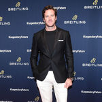 Armie hammer at the breitling event